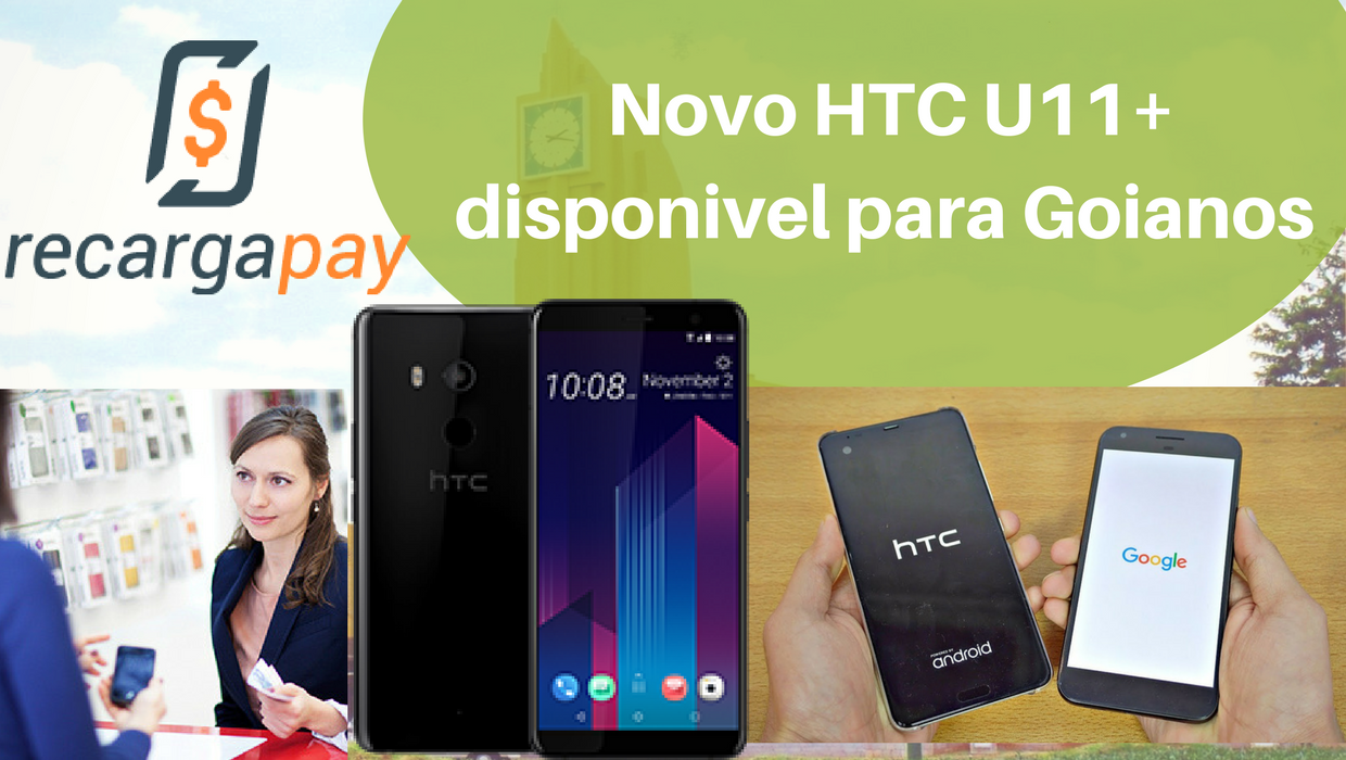 HTC u11 Android en Goaina